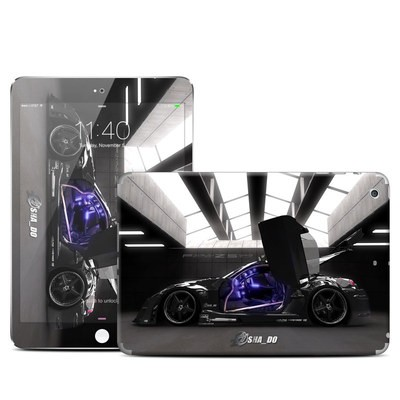 Apple iPad Mini 3 Skin - Z33 Dark