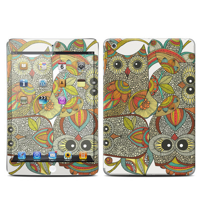Apple iPad Mini Retina Skin - 4 owls