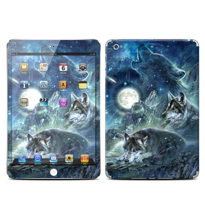 Apple iPad Mini Retina Skin - Bark At The Moon