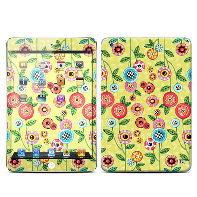 Apple iPad Mini Retina Skin - Button Flowers