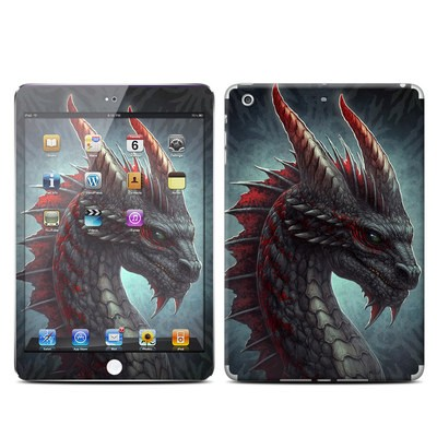 Apple iPad Mini Retina Skin - Black Dragon