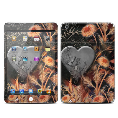 Apple iPad Mini Retina Skin - Black Lace Flower