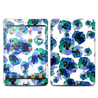 Apple iPad Mini Retina Skin - Blue Eye Flowers