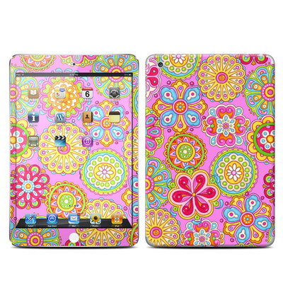 Apple iPad Mini Retina Skin - Bright Flowers