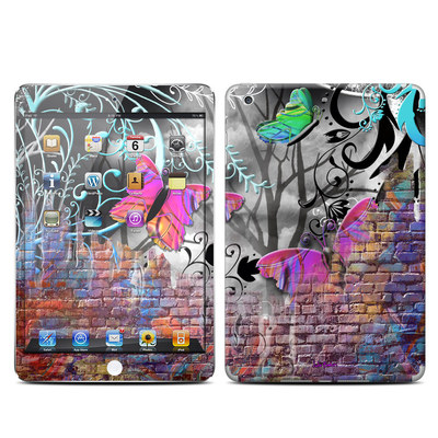 Apple iPad Mini Retina Skin - Butterfly Wall
