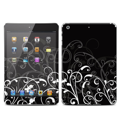 Apple iPad Mini Retina Skin - B&W Fleur