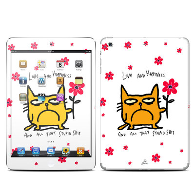 Apple iPad Mini Retina Skin - Catwad Happy