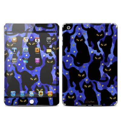 Apple iPad Mini Retina Skin - Cat Silhouettes