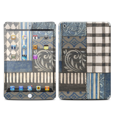 Apple iPad Mini Retina Skin - Country Chic Blue