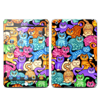 Apple iPad Mini Retina Skin - Colorful Kittens