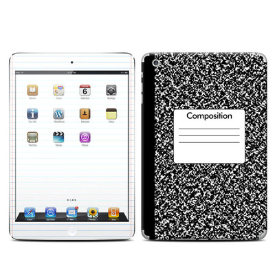 Apple iPad Mini Retina Skin - Composition Notebook