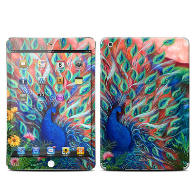 Apple iPad Mini Retina Skin - Coral Peacock