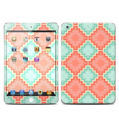 Apple iPad Mini Retina Skin - Coral Diamond