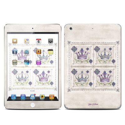 Apple iPad Mini Retina Skin - Purple Crown
