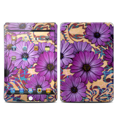 Apple iPad Mini Retina Skin - Daisy Damask