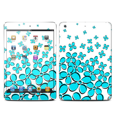 Apple iPad Mini Retina Skin - Daisy Field - Teal
