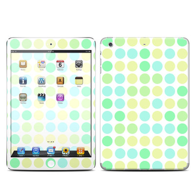 Apple iPad Mini Retina Skin - Big Dots Mint