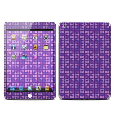 Apple iPad Mini Retina Skin - Dots Purple