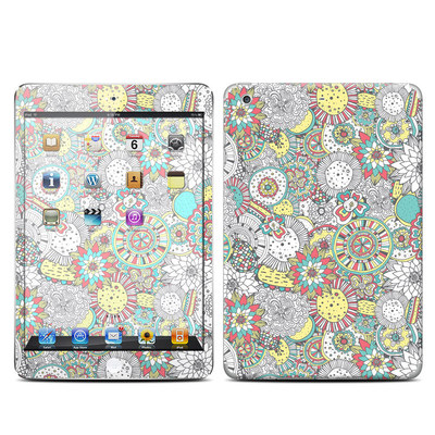 Apple iPad Mini Retina Skin - Faded Floral