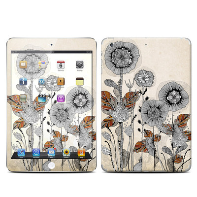 Apple iPad Mini Retina Skin - Four Flowers