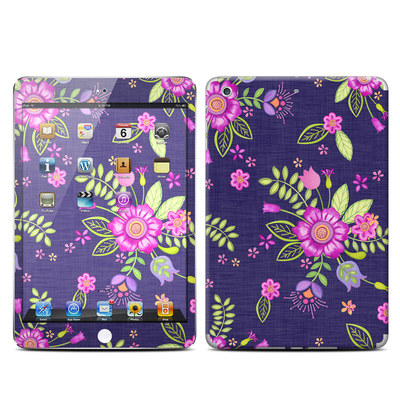 Apple iPad Mini Retina Skin - Folk Floral