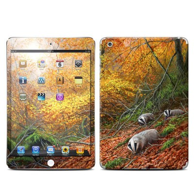 Apple iPad Mini Retina Skin - Forest Gold