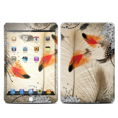 Apple iPad Mini Retina Skin - Feather Dance