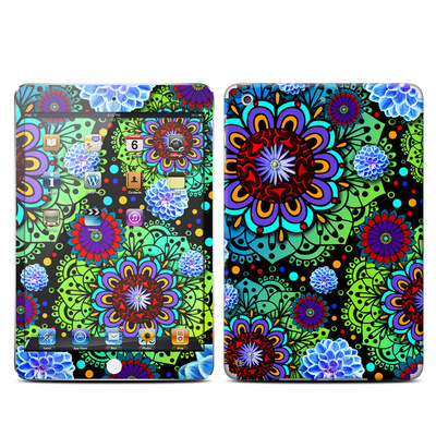 Apple iPad Mini Retina Skin - Funky Floratopia