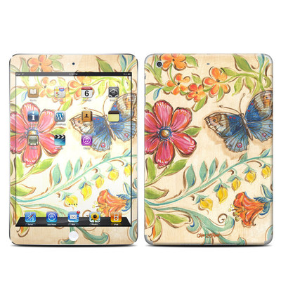 Apple iPad Mini Retina Skin - Garden Scroll