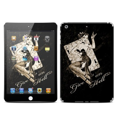 Apple iPad Mini Retina Skin - Give Em Hell