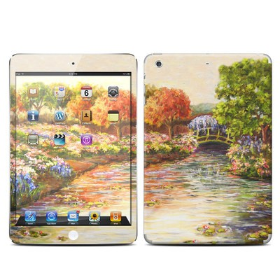 Apple iPad Mini Retina Skin - Giverny Forever
