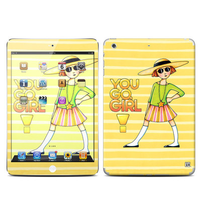 Apple iPad Mini Retina Skin - You Go Girl