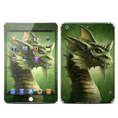 Apple iPad Mini Retina Skin - Green Dragon
