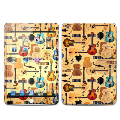 Apple iPad Mini Retina Skin - Guitar Collage