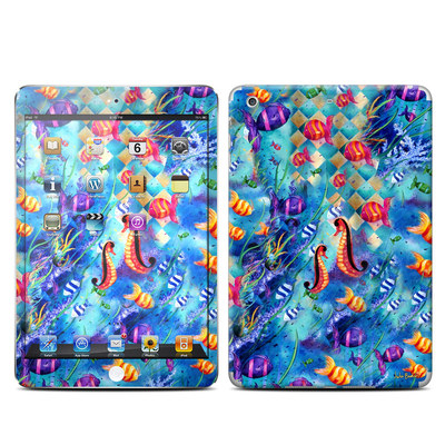 Apple iPad Mini Retina Skin - Harlequin Seascape