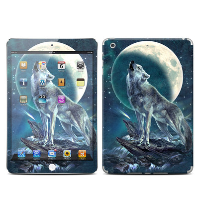 Apple iPad Mini Retina Skin - Howling Moon Soloist