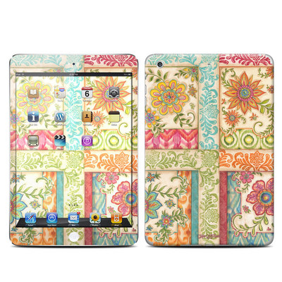 Apple iPad Mini Retina Skin - Ikat Floral