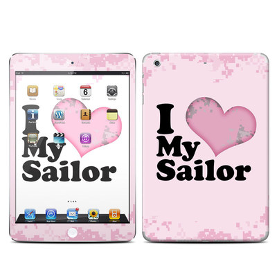 Apple iPad Mini Retina Skin - I Love My Sailor