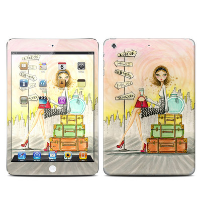 Apple iPad Mini Retina Skin - The Jet Setter