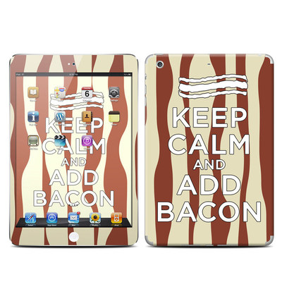Apple iPad Mini Retina Skin - Keep Calm - Bacon