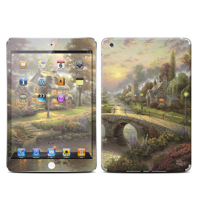 Apple iPad Mini Retina Skin - Sunset On Lamplight Lane