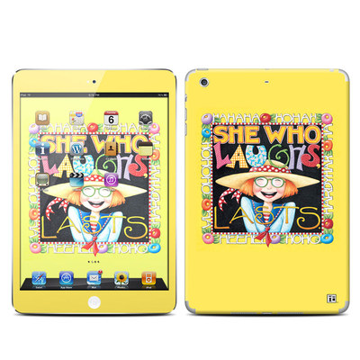 Apple iPad Mini Retina Skin - She Who Laughs