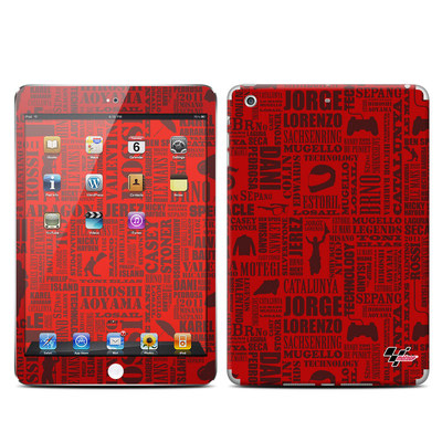 Apple iPad Mini Retina Skin - Life of MotoGP