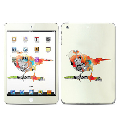 Apple iPad Mini Retina Skin - Little Bird