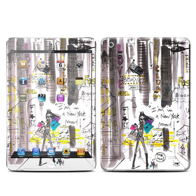 Apple iPad Mini Retina Skin - My New York Mood