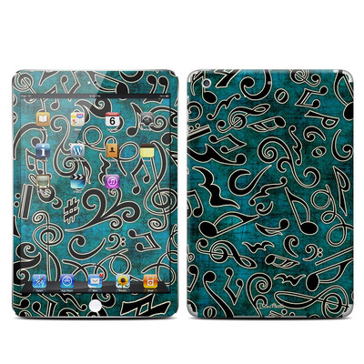 Apple iPad Mini Retina Skin - Music Notes