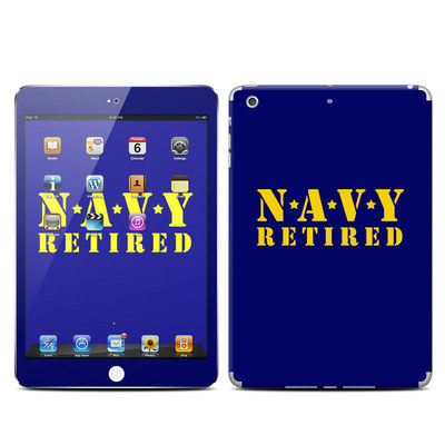 Apple iPad Mini Retina Skin - Navy Retired