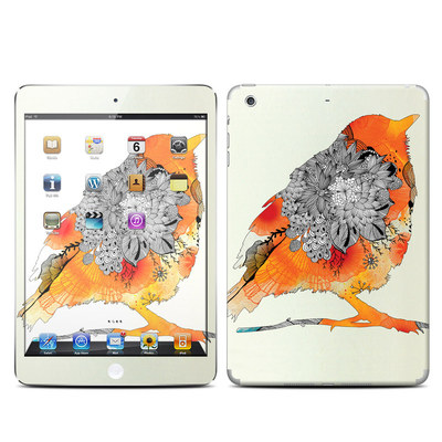 Apple iPad Mini Retina Skin - Orange Bird
