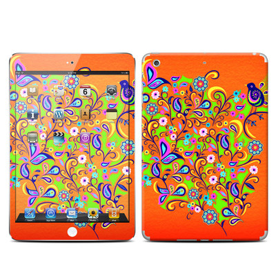 Apple iPad Mini Retina Skin - Orange Squirt