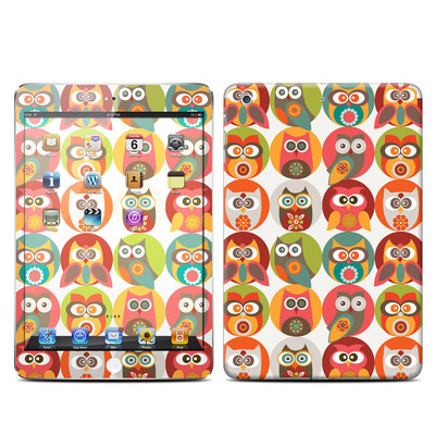 Apple iPad Mini Retina Skin - Owls Family